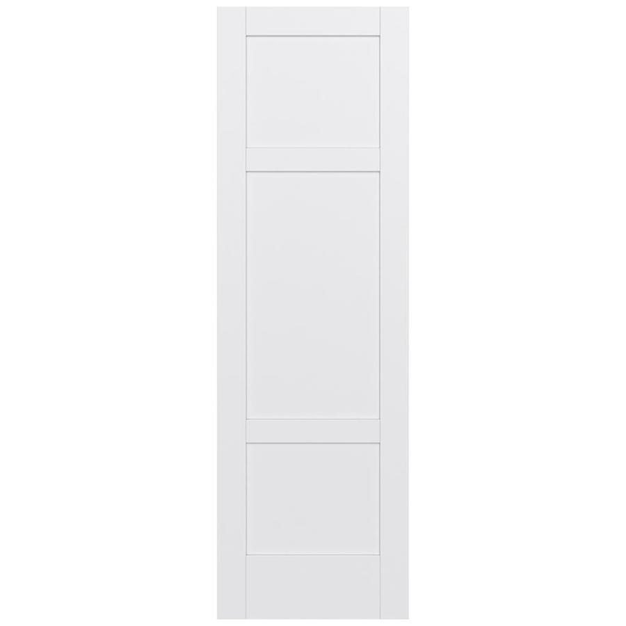 JELD-WEN MODA Primed Slab Interior Door (Common: 28-in x 96-in; Actual: 28-in x 96-in)