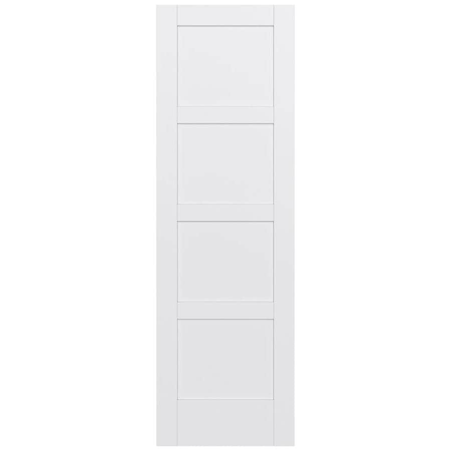 JELD-WEN MODA Primed Slab Interior Door (Common: 28-in x 96-in; Actual: 28-in x 96-in)