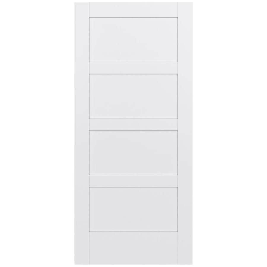 JELD-WEN MODA Primed Slab Interior Door (Common: 36-in x 80-in; Actual: 36-in x 80-in)