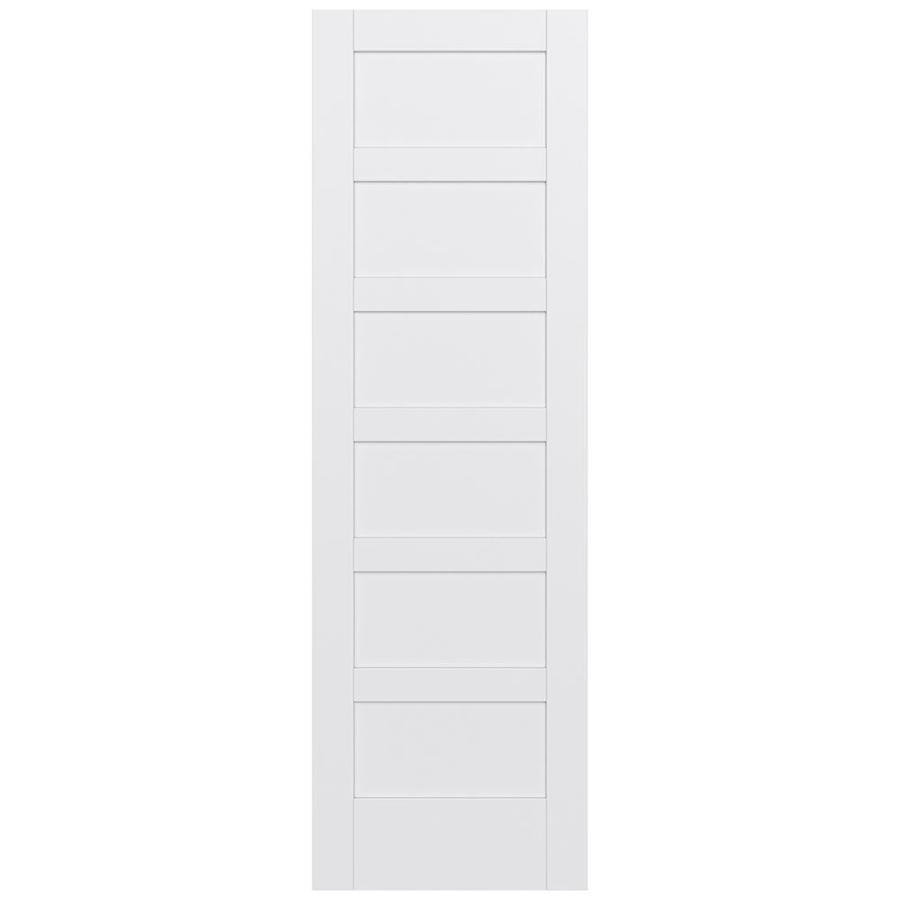 JELD-WEN MODA Pine Single Prehung Interior Door (Common: 24-in x 96-in; Actual: 25.5600-in x 97.6900-in)