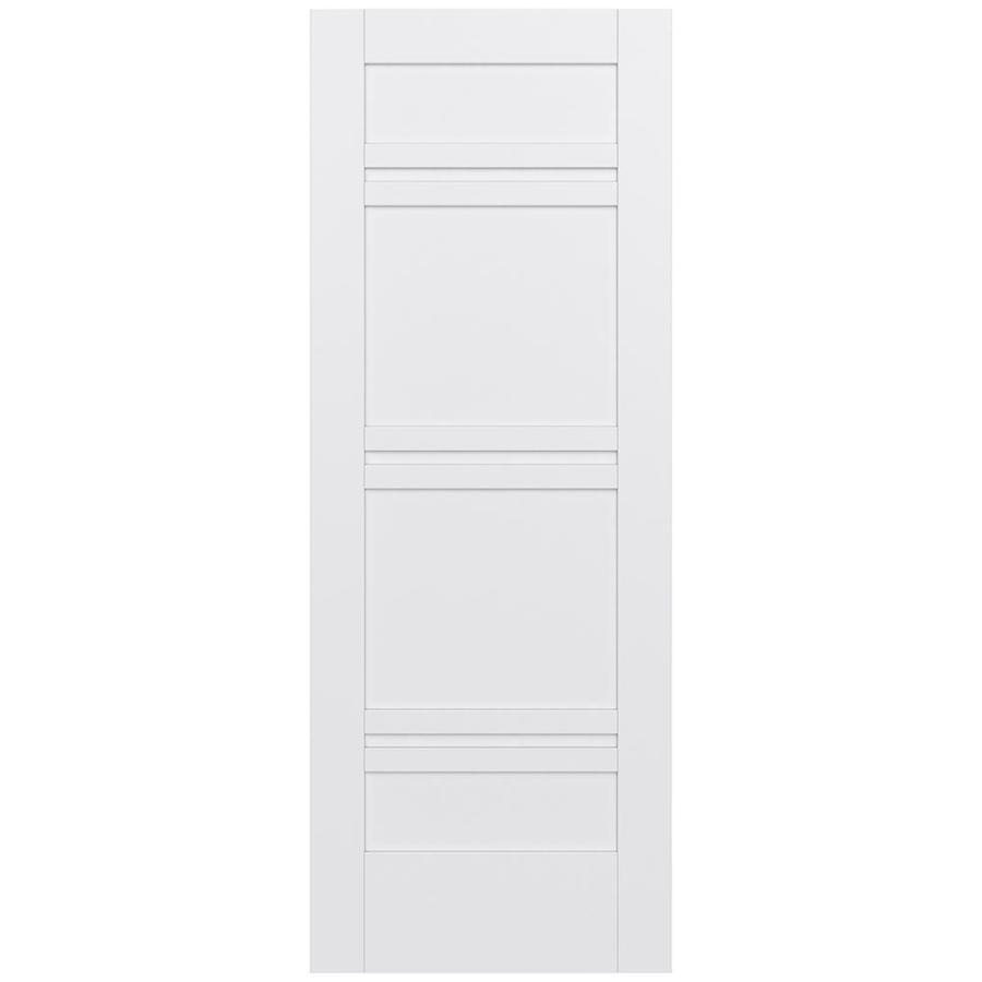 JELD-WEN Moda Solid Core 7-Panel Slab Interior Door (Common: 24-in x 80-in; Actual: 24-in x 80-in)