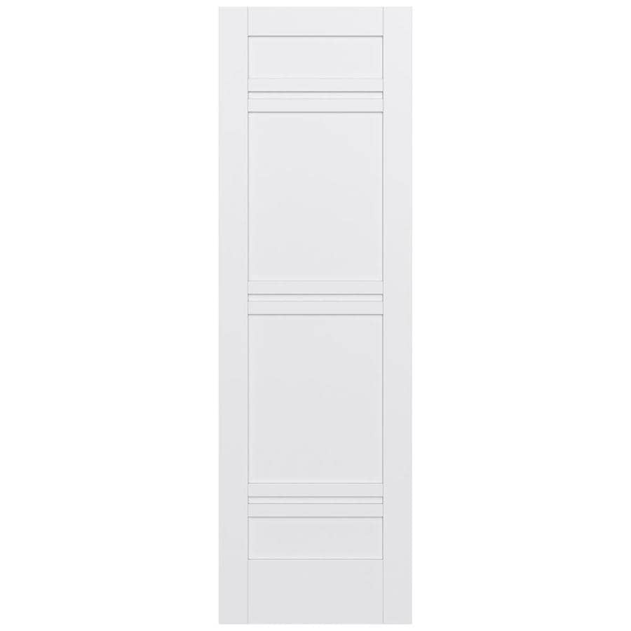 JELD-WEN Moda Solid Core 7-Panel Slab Interior Door (Common: 32-in x 96-in; Actual: 32-in x 96-in)