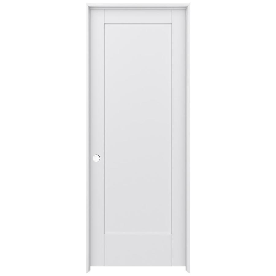 JELD-WEN MODA Pine Single Prehung Interior Door (Common: 24-in x 80-in; Actual: 25.5600-in x 81.6900-in)