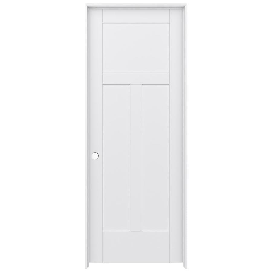 JELD-WEN MODA Pine Single Prehung Interior Door (Common: 30-in x 80-in; Actual: 31.5600-in x 81.6900-in)