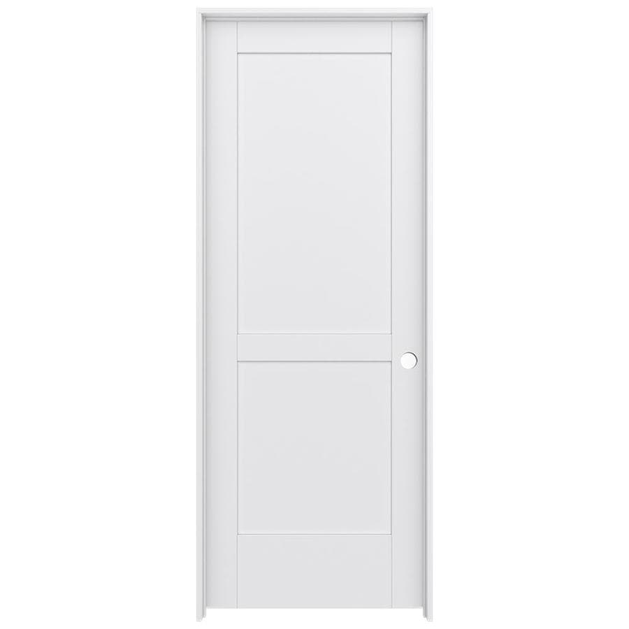 JELD-WEN MODA Pine Single Prehung Interior Door (Common: 24-in x 80-in; Actual: 25.5600-in x 81.6900-in)