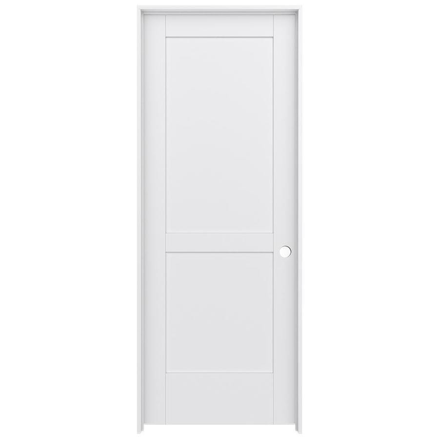 JELD-WEN MODA Pine Single Prehung Interior Door (Common: 32-in x 80-in; Actual: 33.5600-in x 81.6900-in)