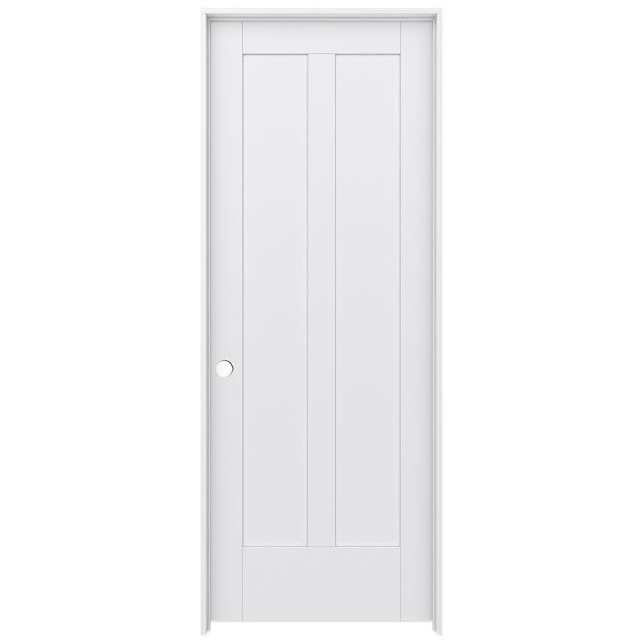 JELD-WEN Moda Prehung Solid Core 2-Panel Square Interior Door (Common: 32-in x 80-in; Actual: 33.562-in x 81.688-in)