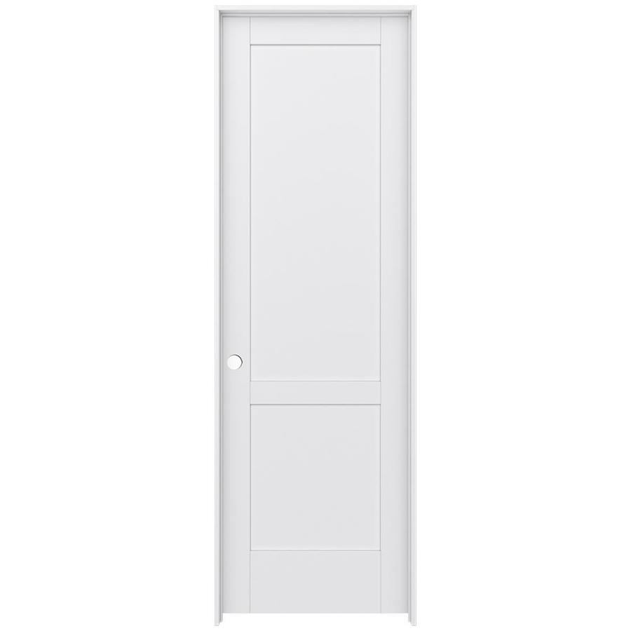 JELD-WEN Moda Prehung Solid Core 2-Panel Square Interior Door (Common: 32-in x 96-in; Actual: 33.562-in x 97.688-in)