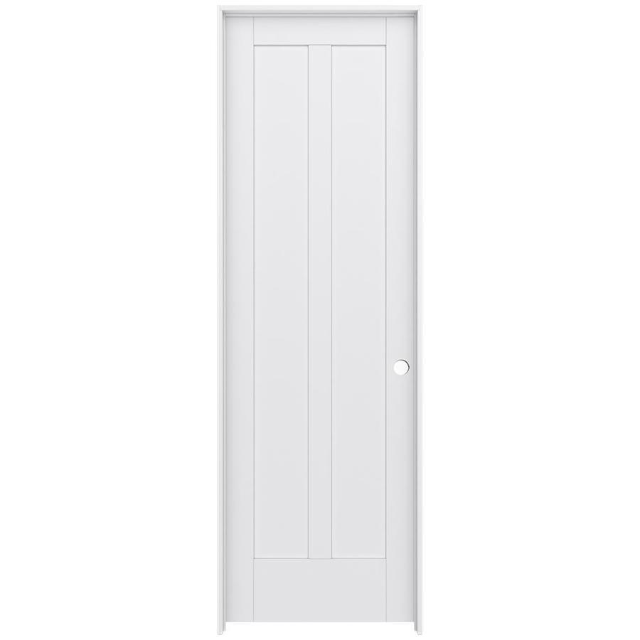 JELD-WEN Moda Prehung Solid Core 2-Panel Square Interior Door (Common: 28-in x 96-in; Actual: 29.562-in x 97.688-in)