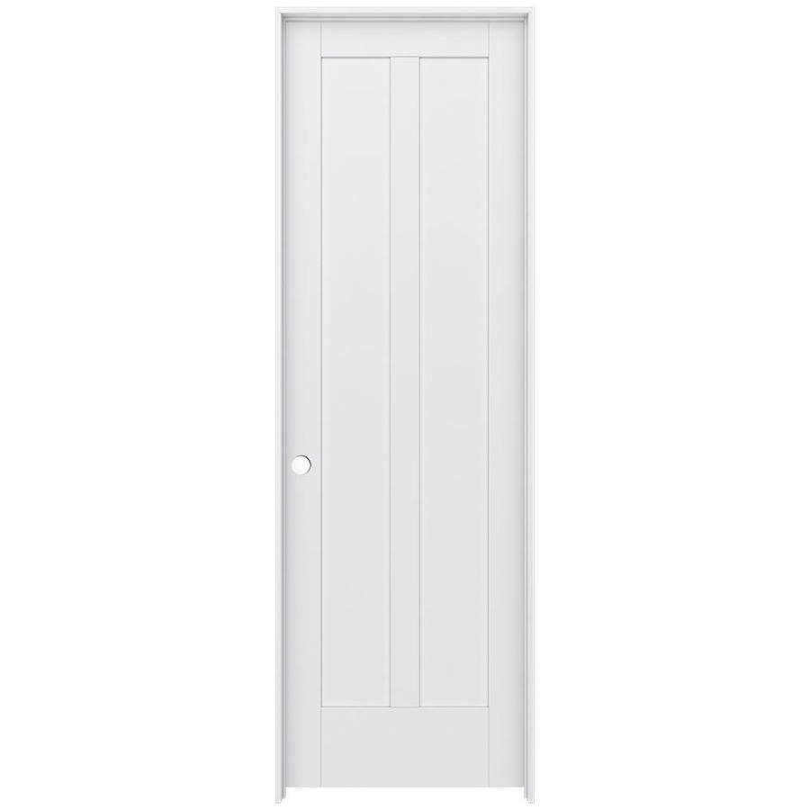 JELD-WEN Moda Prehung Solid Core 2-Panel Square Interior Door (Common: 32-in x 96-in; Actual: 33.562-in x 97.688-in)