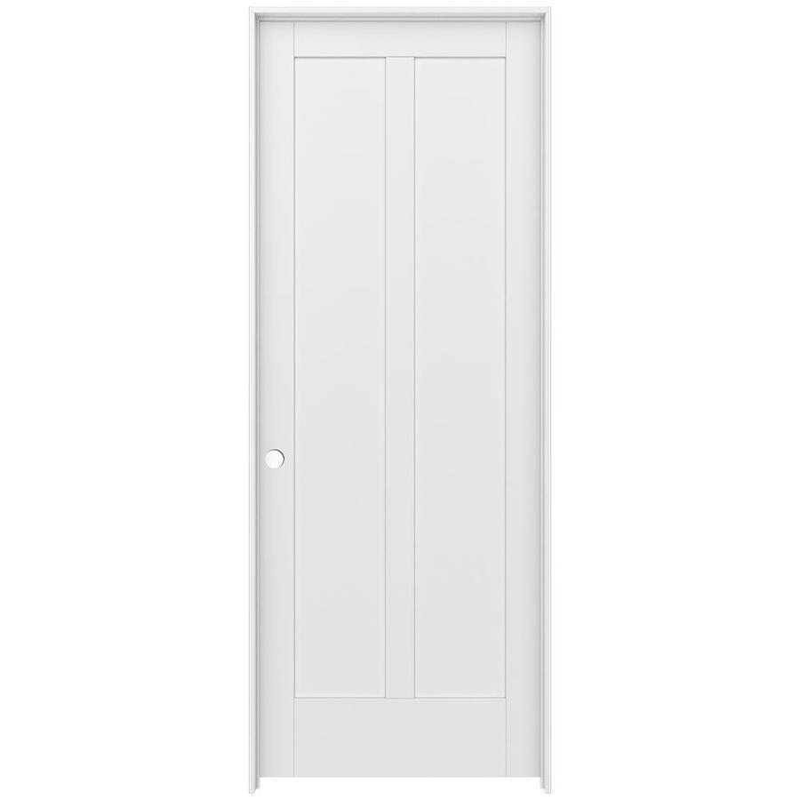 JELD-WEN MODA Primed Interior Door with Hardware (Common: 36-in x 96-in; Actual: 37.562-in x 97.688-in)