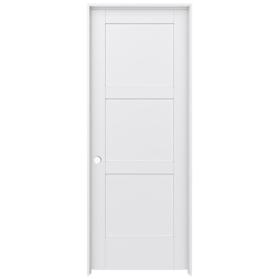JELD-WEN MODA Pine Slab Interior Door (Common: 32-in x 80-in; Actual: 33.5600-in x 81.6900-in)