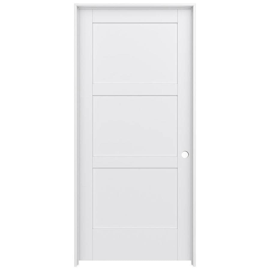 JELD-WEN MODA Pine Slab Interior Door (Common: 36-in x 80-in; Actual: 37.5600-in x 81.6900-in)
