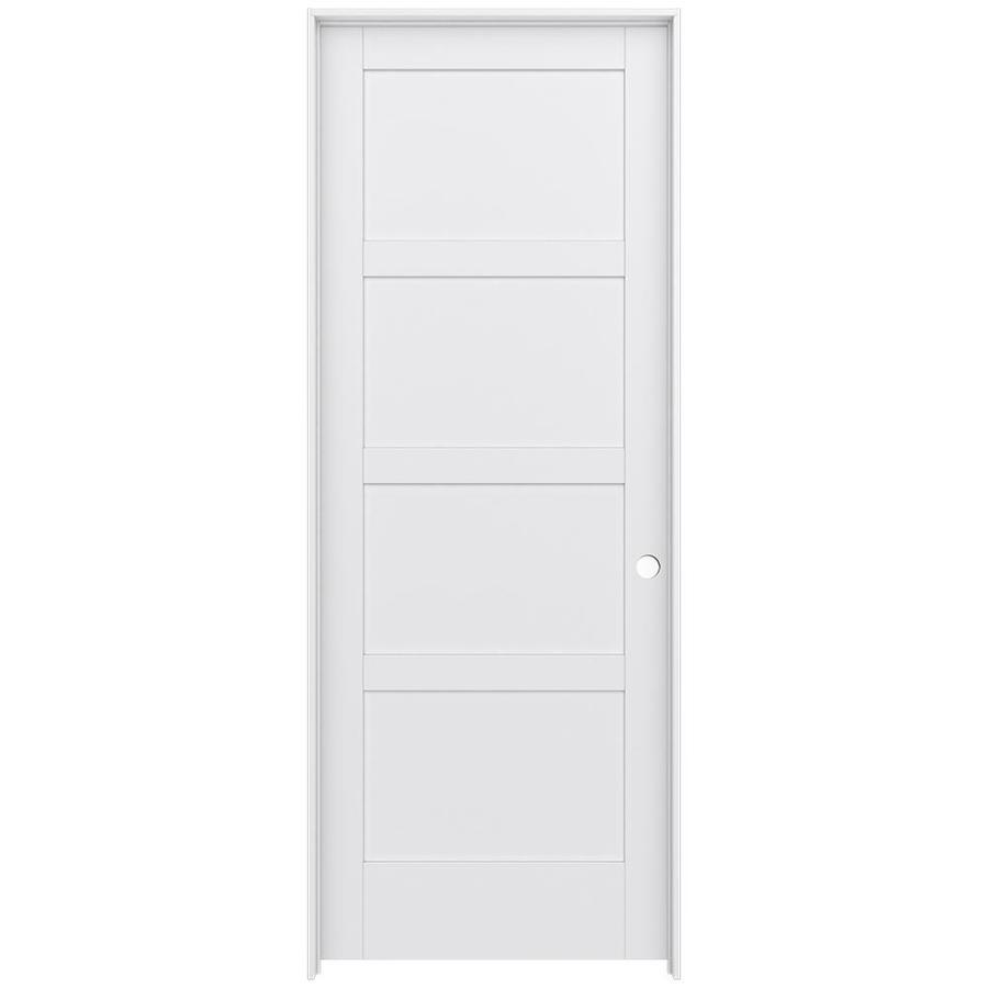 JELD-WEN MODA Pine Slab Interior Door (Common: 36-in x 96-in; Actual: 37.5600-in x 97.6900-in)