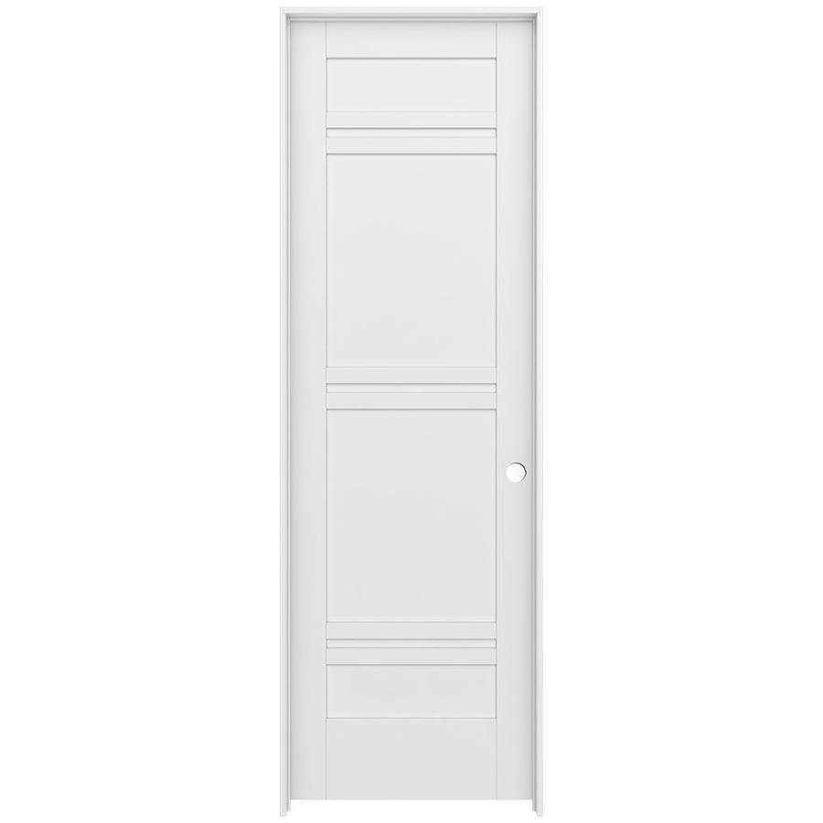 JELD-WEN MODA Pine Slab Interior Door (Common: 32-in x 96-in; Actual: 33.5600-in x 97.6900-in)