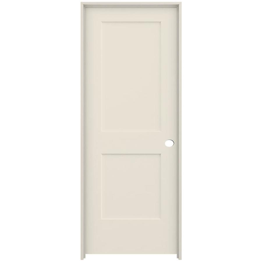 Shop Reliabilt Moda Primed 2 Panel Square Hollow Core Wood
