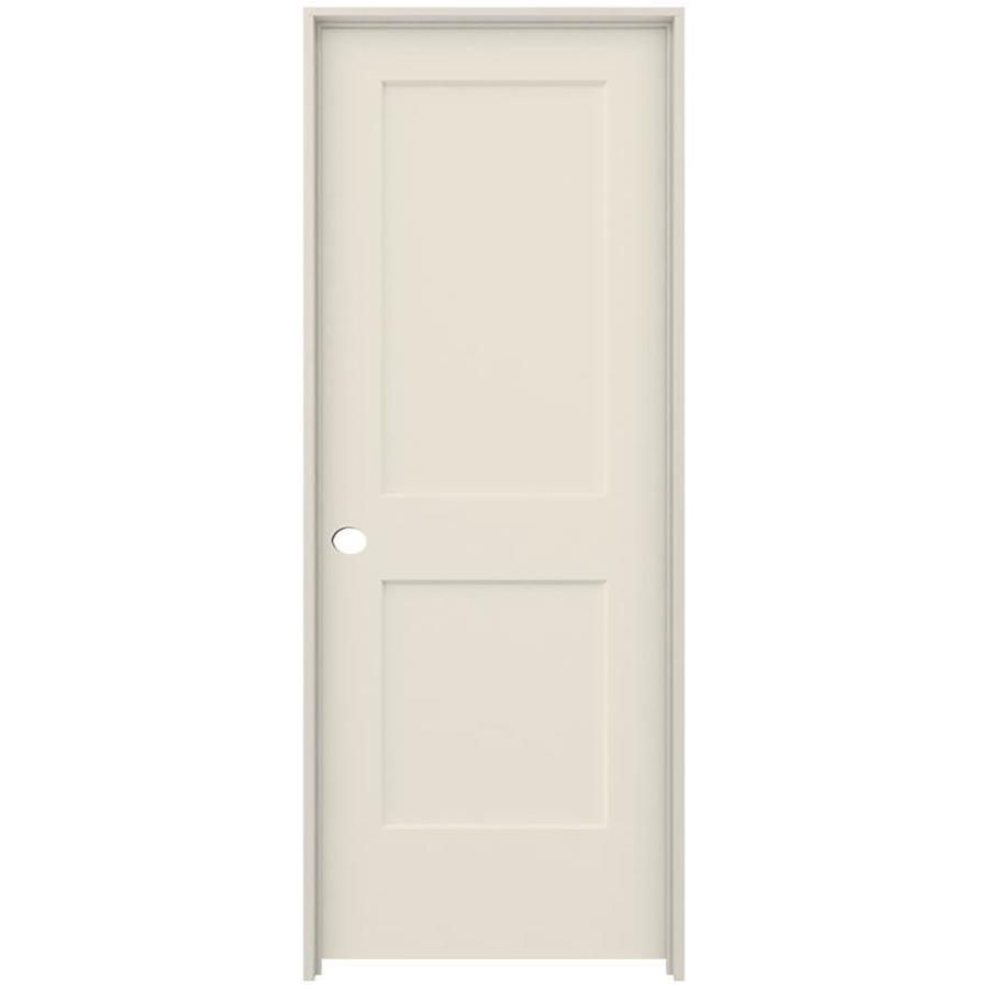 ReliaBilt 2-panel Square Single Prehung Interior Door (Common: 30-in x 80-in; Actual: 31.562-in x 81.688-in)