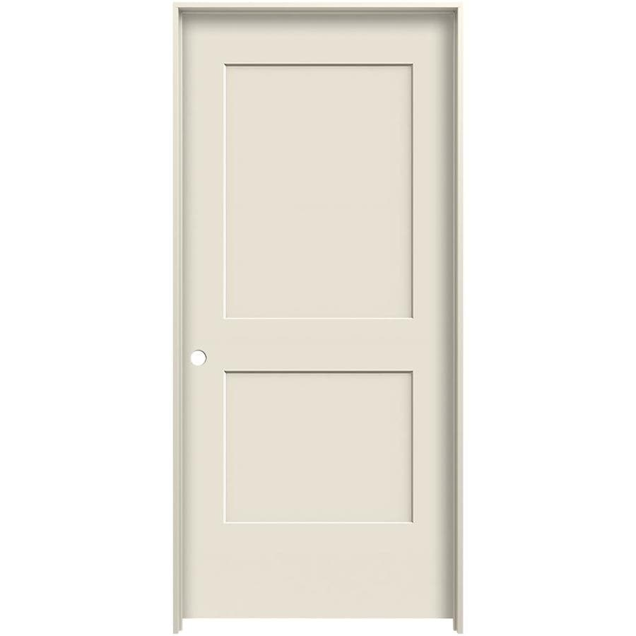 Shop reliabilt cambridge primed hollow core molded composite single prehung interior door - Hollow core interior doors lowes ...