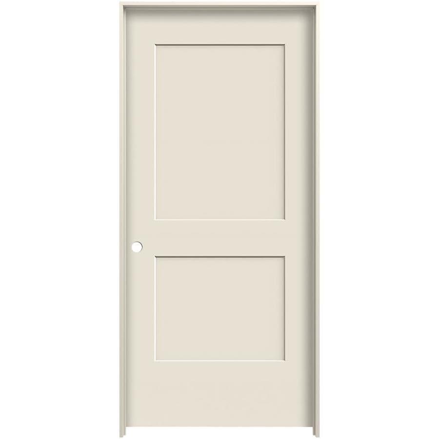 Shop Reliabilt Cambridge Primed Hollow Core Molded Composite Single Prehung Interior Door