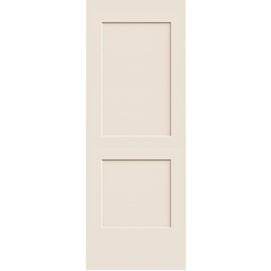 ReliaBilt 2-panel Square Slab Interior Door (Common: 30-in x 80-in; Actual: 30-in x 80-in)