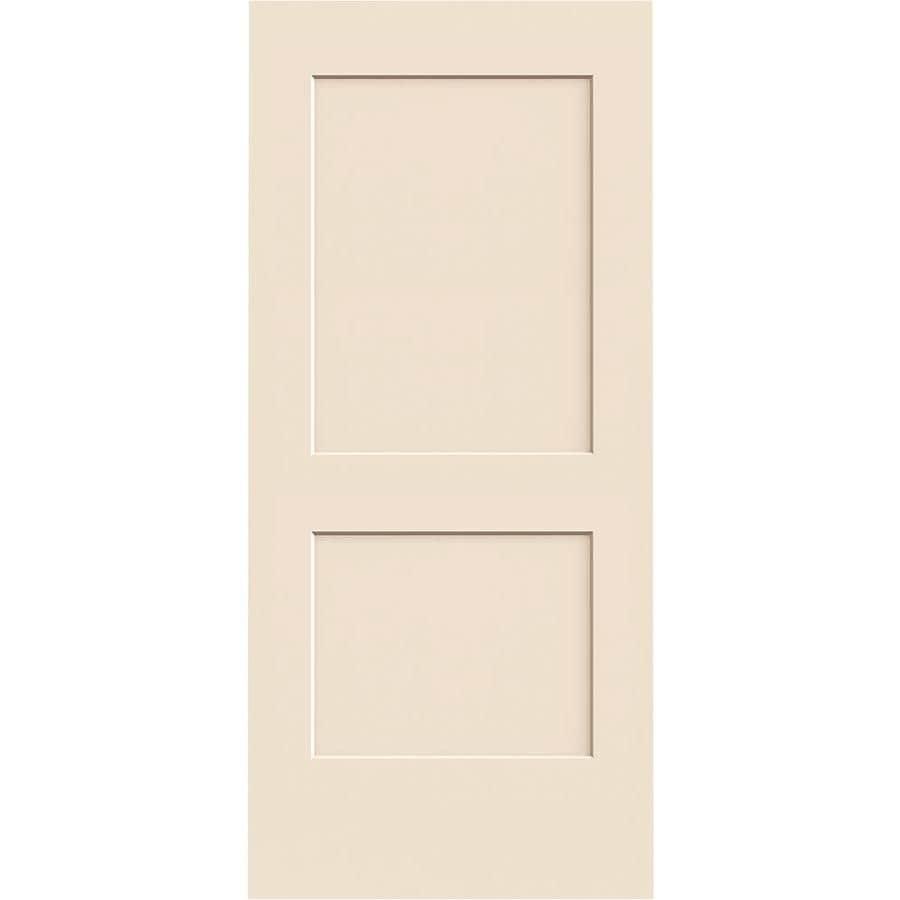 ReliaBilt Cambridge Primed Hollow Core Molded Composite Slab Interior Door (Common: 36-in x 80-in; Actual: 36-in x 80-in)