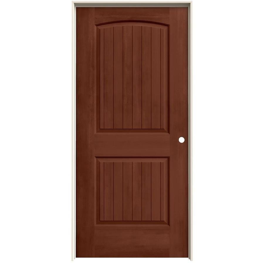 Jeld Wen Interior Doors : Shop jeld wen view amaretto hollow core molded composite