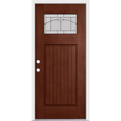 Douglas Fir Exterior Doors At Lowes Com