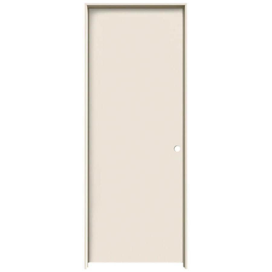 JELD-WEN Primed Hollow Core Hardboard Single Prehung Interior Door (Common 24-  sc 1 st  Loweu0027s & Shop JELD-WEN Primed Hollow Core Hardboard Single Prehung Interior ...