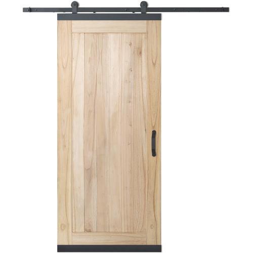 JELD-WEN DesignGlide Unfinished Plank Wood White Cedar ...