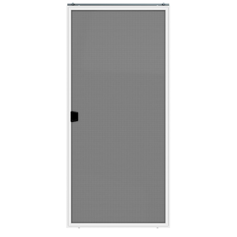 Shop Jeld Wen Aluminum Sliding French Screen Door Common 36 In X