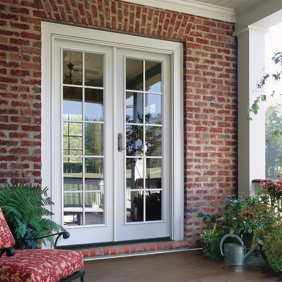 Awesome JELD WEN 59.5 In X 79.5 In Simulated Divided Light Right Hand