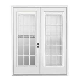 Blinds between the gl Patio Doors at Lowes.com on