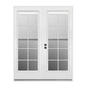 Jeld Wen French Blinds Between The Gl Primed Steel Patio Door With Insulating Core