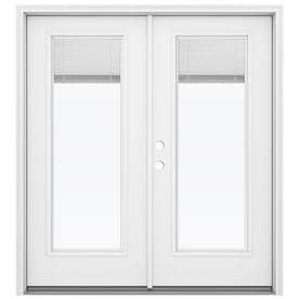JELD WEN 71.5 In X 79.5625 In Blinds Between The Glass Right