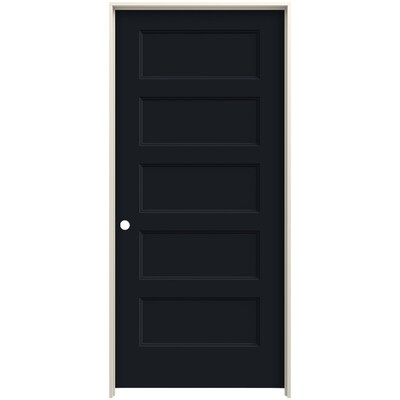 Jeld Wen Conmore Midnight 5 Panel Flat Solid Core Molded