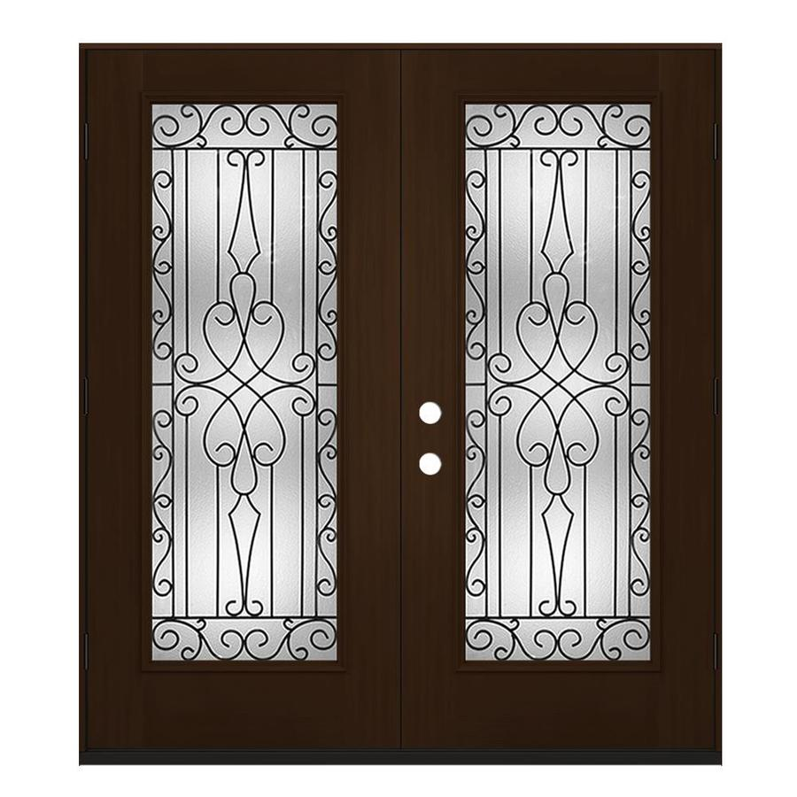 Jeld Wen Wyngate Full Lite Decorative Glass Left Hand