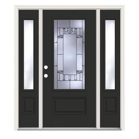 Decorative Glass Entry Doors At Lowes Com