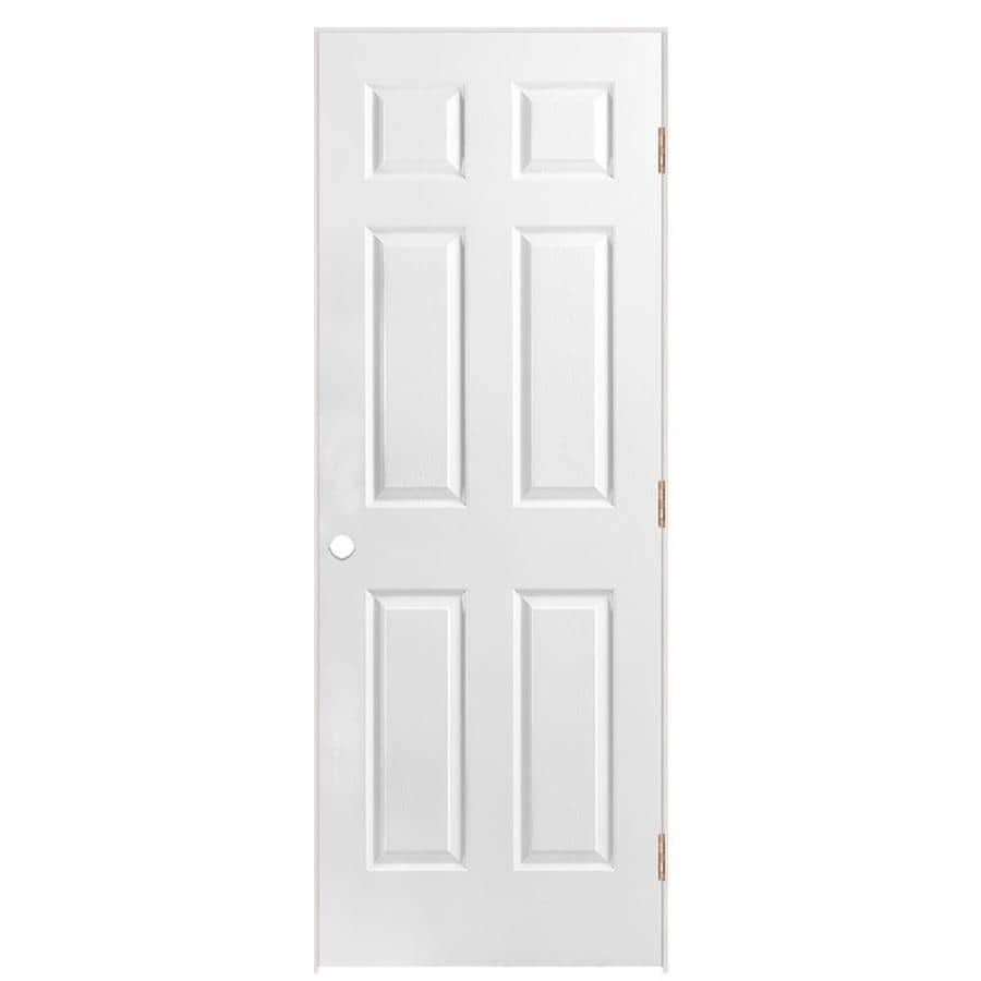 ReliaBilt 6-Panel Prehung Solid Core 6-Panel Interior Door (Common: 30-in x 80-in; Actual: 31.5-in x 81.5-in)