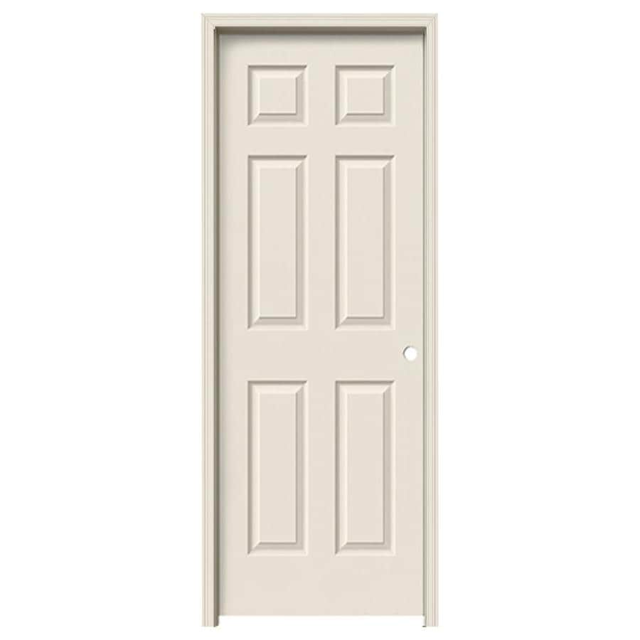 ReliaBilt Prehung Hollow Core 6 Panel Interior Door (Common: 28 In X