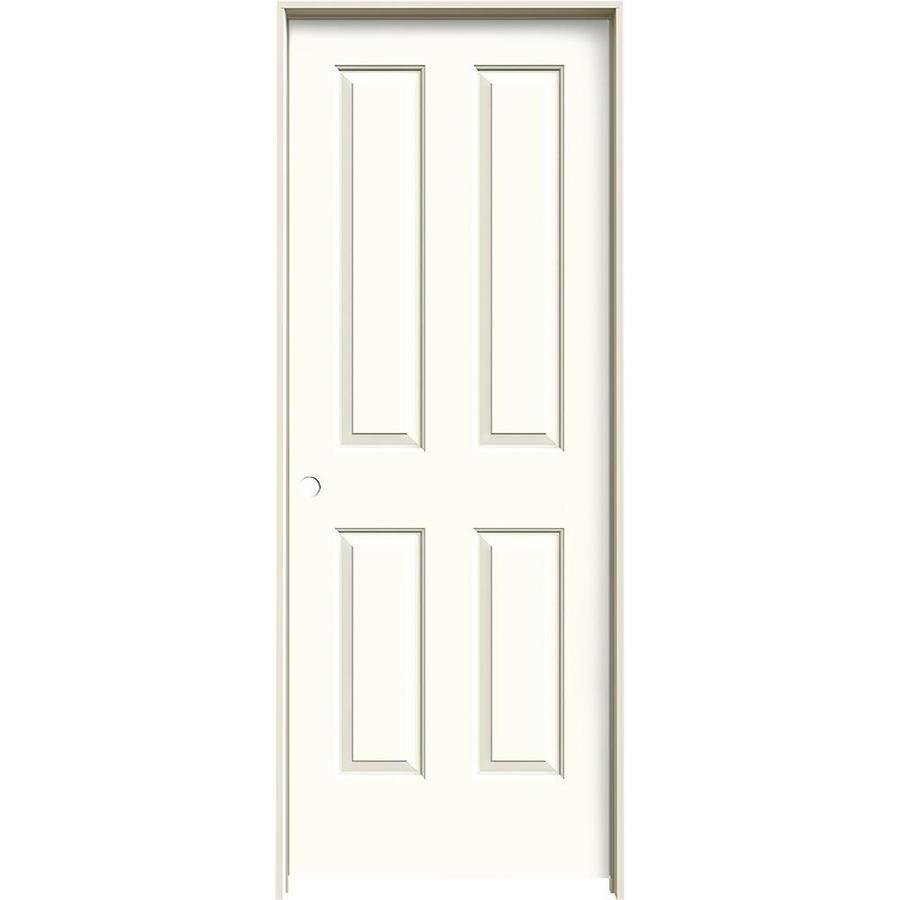 JELD-WEN Coventry Moonglow Single Prehung Interior Door (Common: 24-in x 80-in; Actual: 25.562-in x 81.688-in)