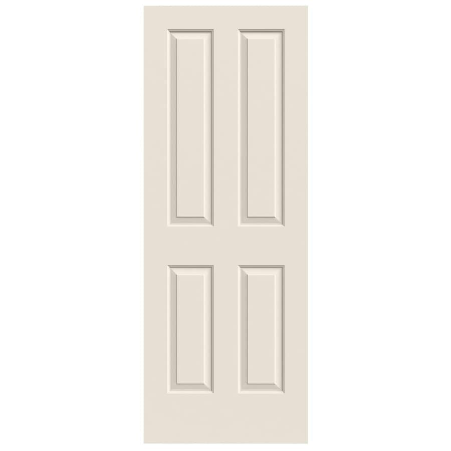 JELD-WEN Coventry Primed Solid Core Molded Composite Slab Interior Door (Common: 28-in x 80-in; Actual: 28-in x 80-in)
