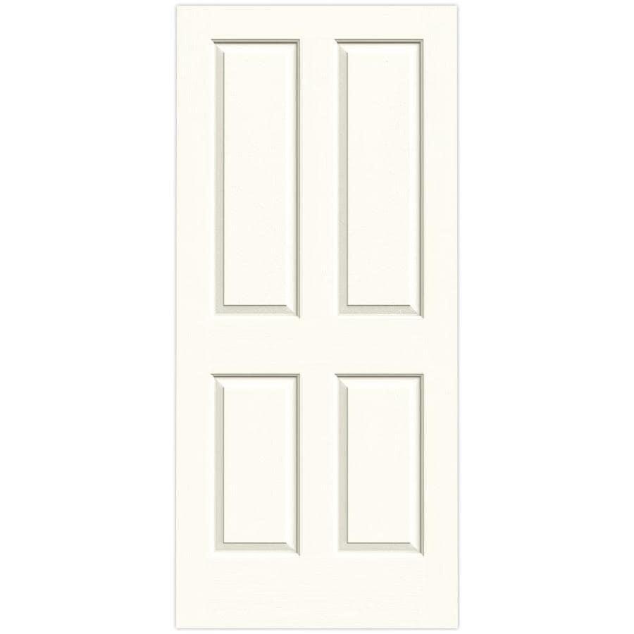 JELD-WEN Coventry Moonglow Hollow Core Molded Composite Slab Interior Door (Common: 36-in x 80-in; Actual: 36-in x 80-in)