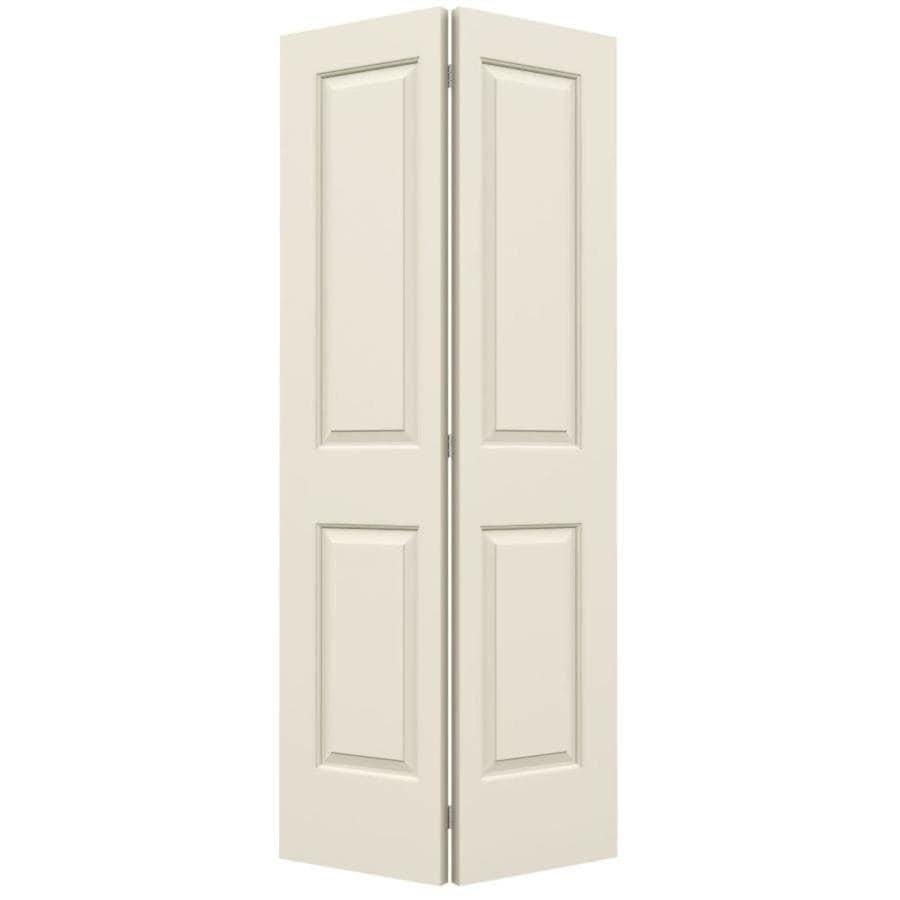 ReliaBilt Hollow Core 2-Panel Square Bi-Fold Closet Interior Door (Common: 36-in x 80-in; Actual: 35.5-in x 79-in)