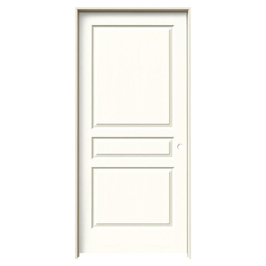 Shop Jeld Wen Avalon Moonglow Single Prehung Interior Door Common 36 In X 80 In Actual 37