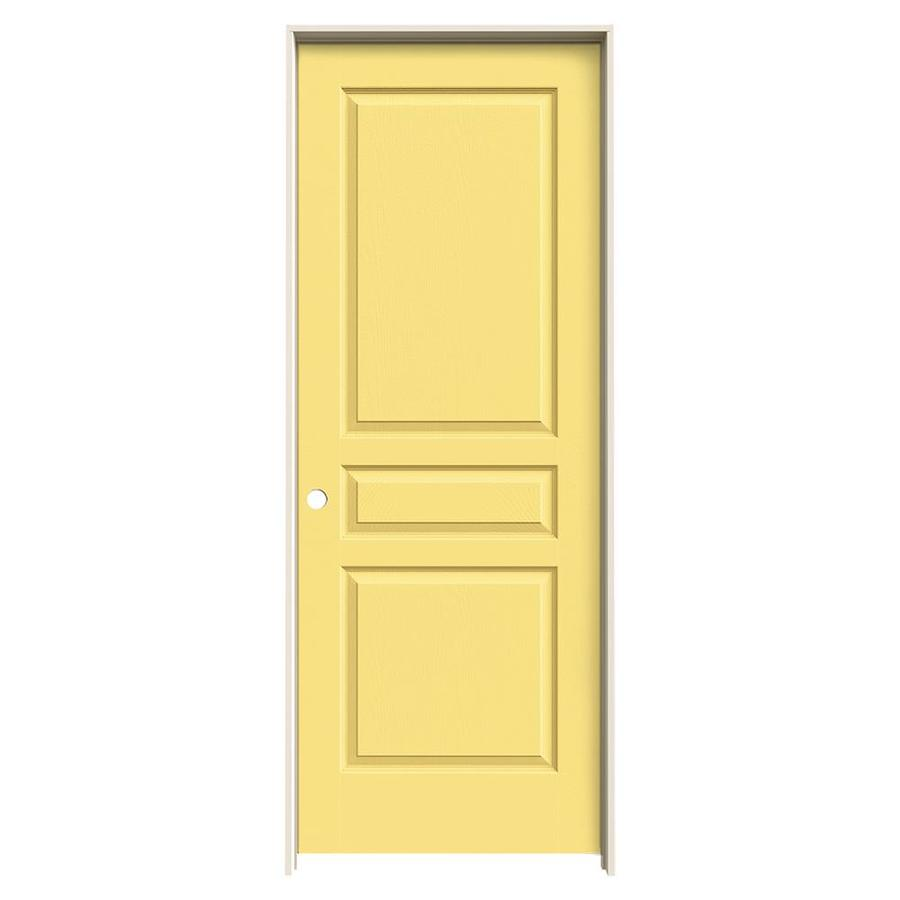 JELD-WEN Avalon Marigold Hollow Core Molded Composite Single Prehung Interior Door (Common: 32-in x 80-in; Actual: 33.5620-in x 81.6880-in)