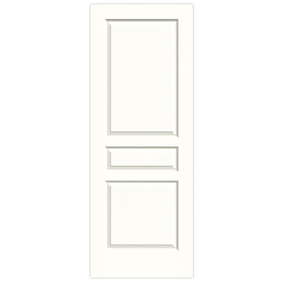 JELD-WEN Avalon Snow Storm Slab Interior Door (Common: 28-in x 80-in; Actual: 28-in x 80-in)