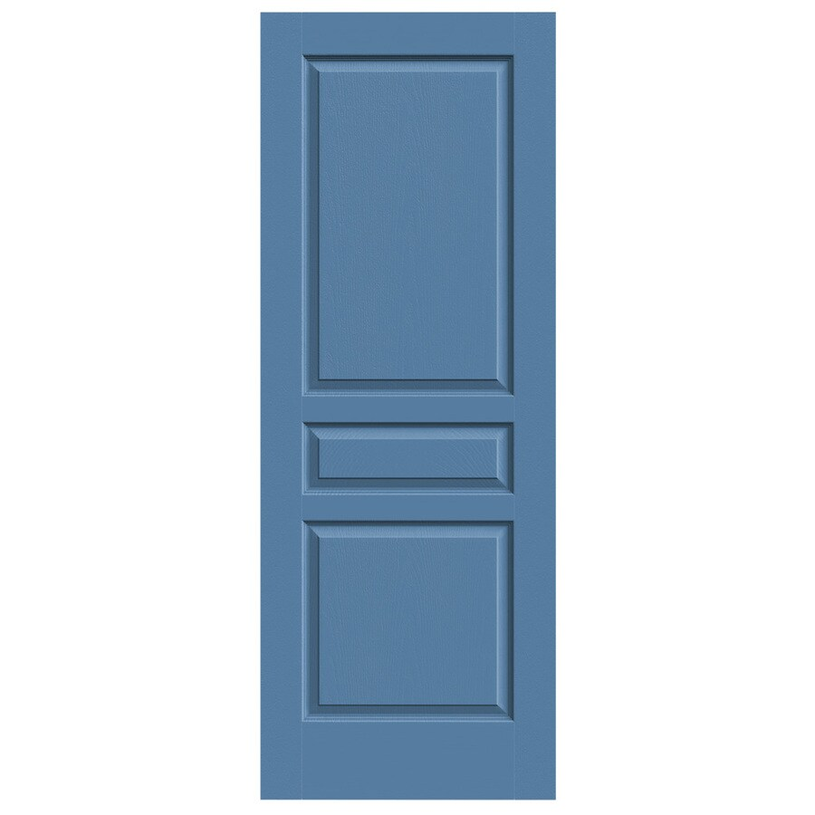 JELD-WEN Avalon Blue Heron Hollow Core Molded Composite Slab Interior Door (Common: 28-in x 80-in; Actual: 28-in x 80-in)