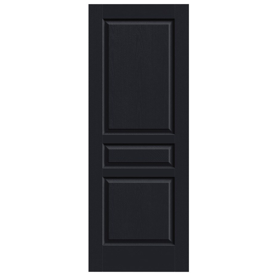 JELD-WEN Avalon Midnight Hollow Core Molded Composite Slab Interior Door (Common: 28-in x 80-in; Actual: 28-in x 80-in)