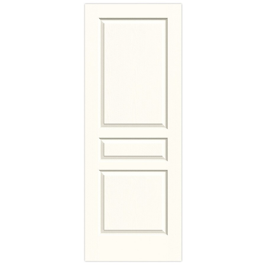 JELD-WEN Avalon Moonglow Solid Core Molded Composite Slab Interior Door (Common: 32-in x 80-in; Actual: 32-in x 80-in)