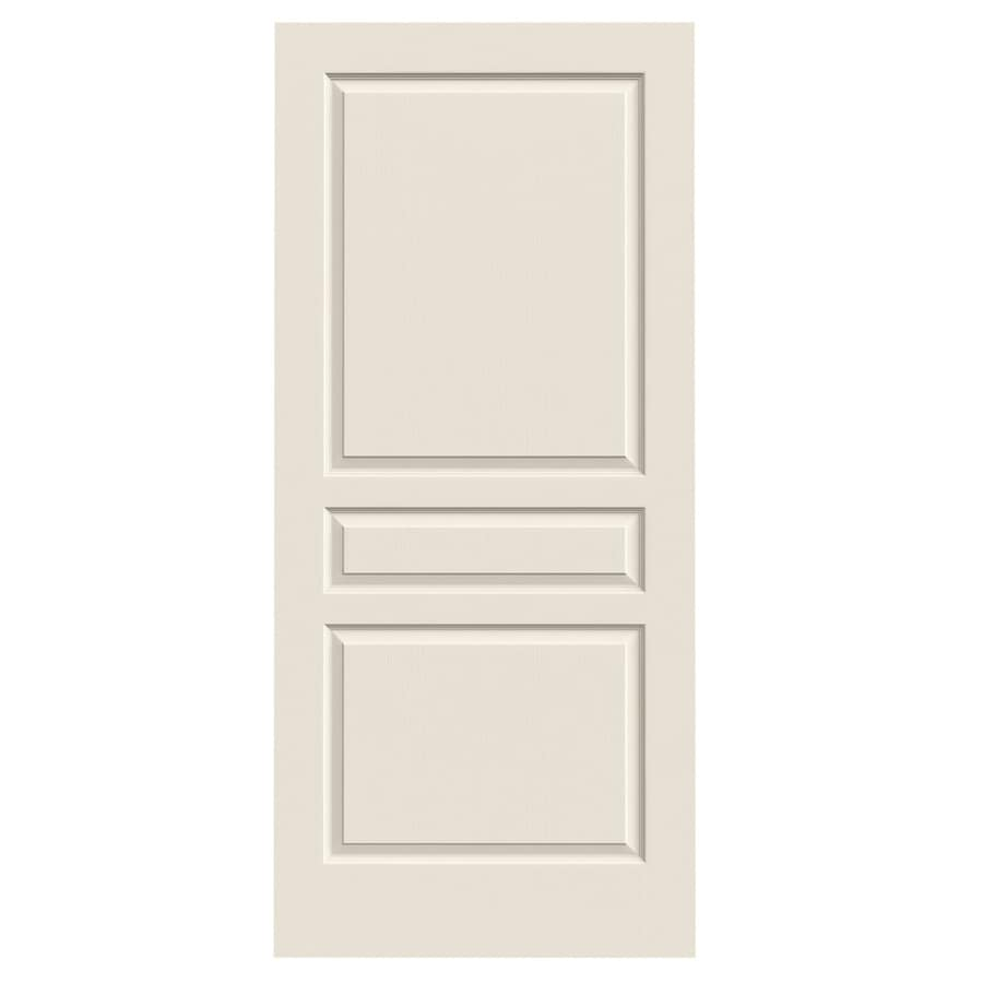 JELD-WEN Avalon 3-panel Square Slab Interior Door (Common: 36-in x 80-in; Actual: 36-in x 80-in)